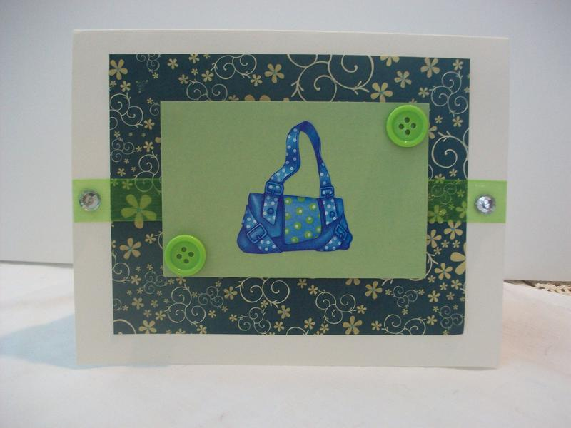 Pocket Book Card Any Occasion