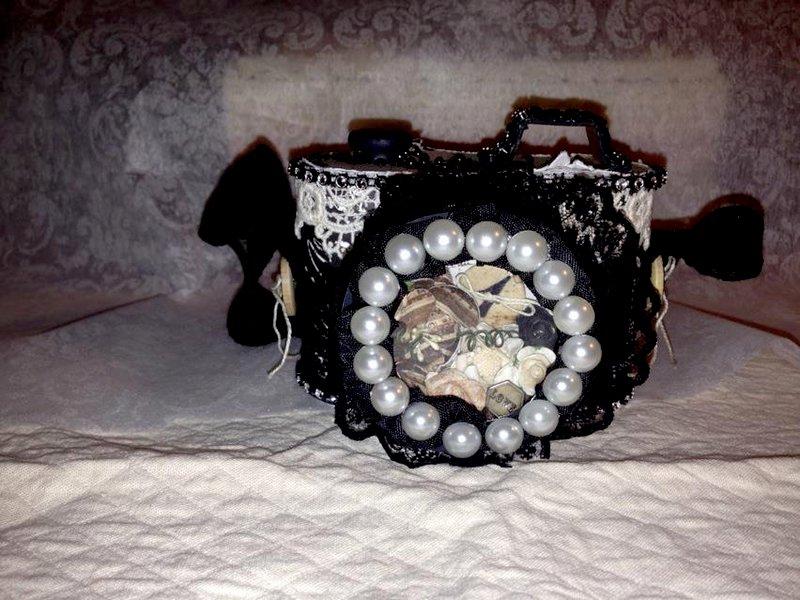 Altered Camera Balsa Box