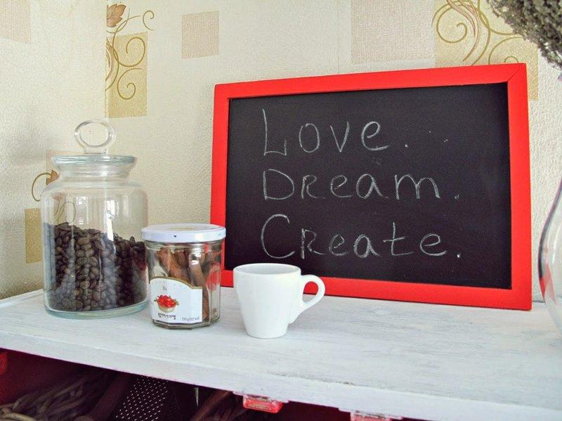 Love. Dream. Create.
