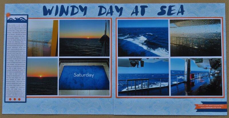 Windy Day At Sea