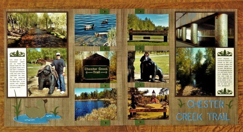 Chester Creek Trail, AK