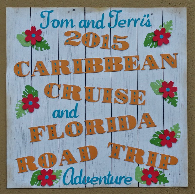 Introduction Page for our 2015 Cruise and Road Trip