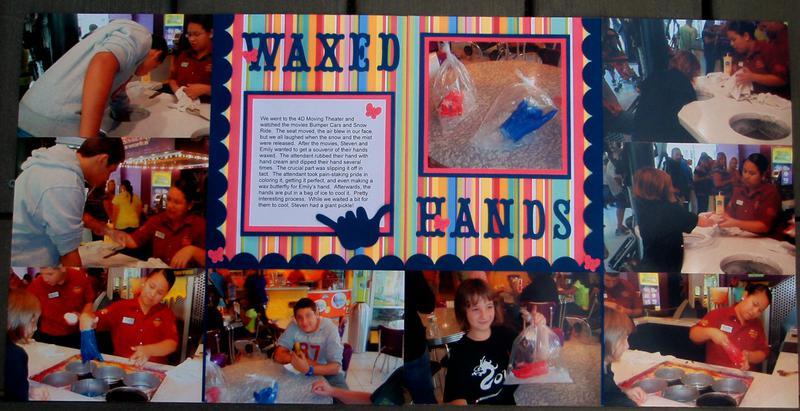 Waxed Hands