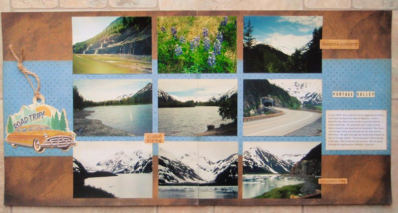 Portage Valley, Alaska