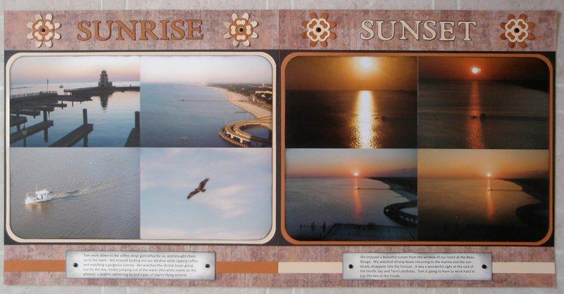 Sunrise, Sunset, Biloxi, MS