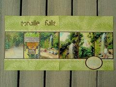 Toraille Falls, St Lucia