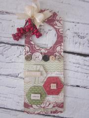 Christmas Door Hang