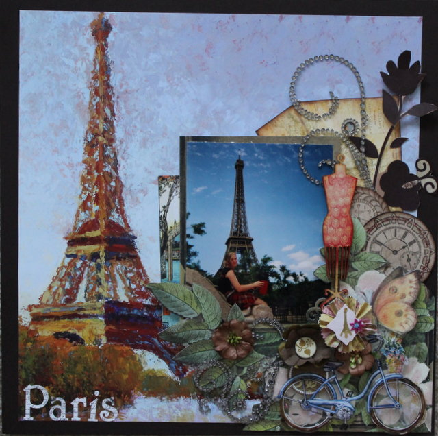 """Paris  """"Scraps of Darkness"""""""