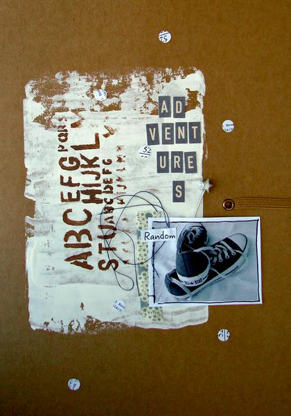 Mixed media book!