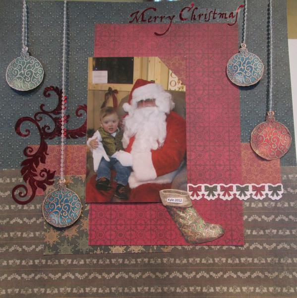 Kyle's Santa Picture 2012