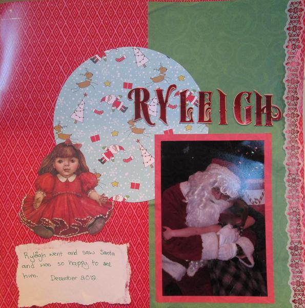 Ryleigh Santa 2012