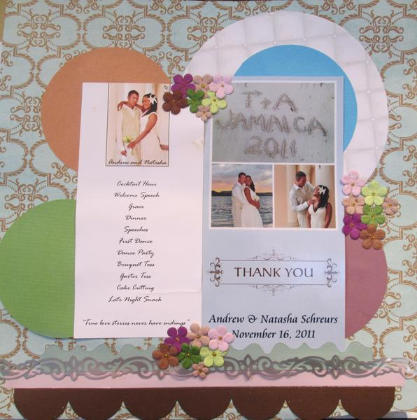 T&A's Thank you Card
