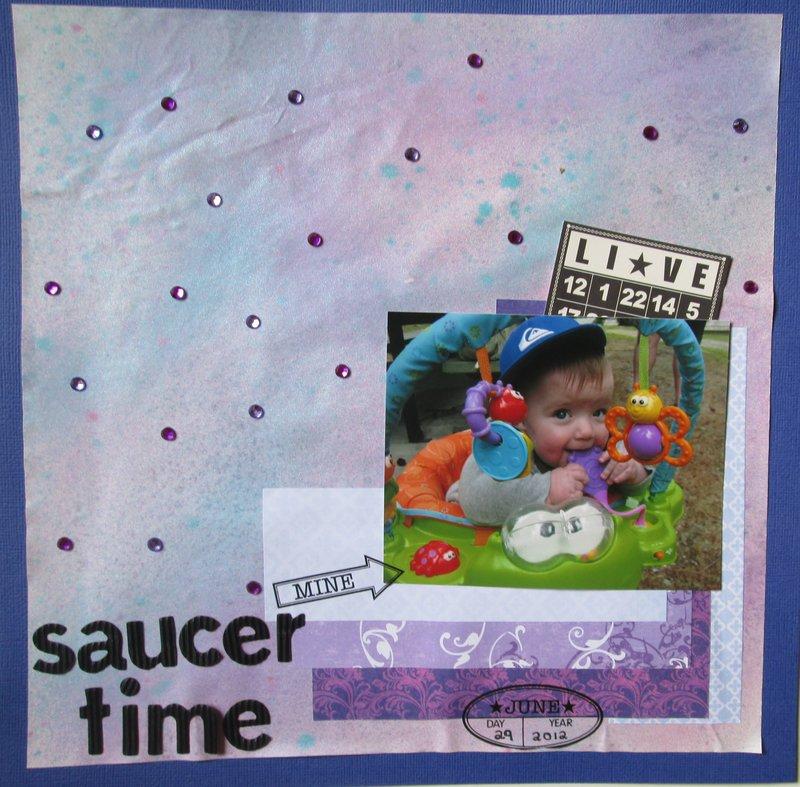 Saucer Time