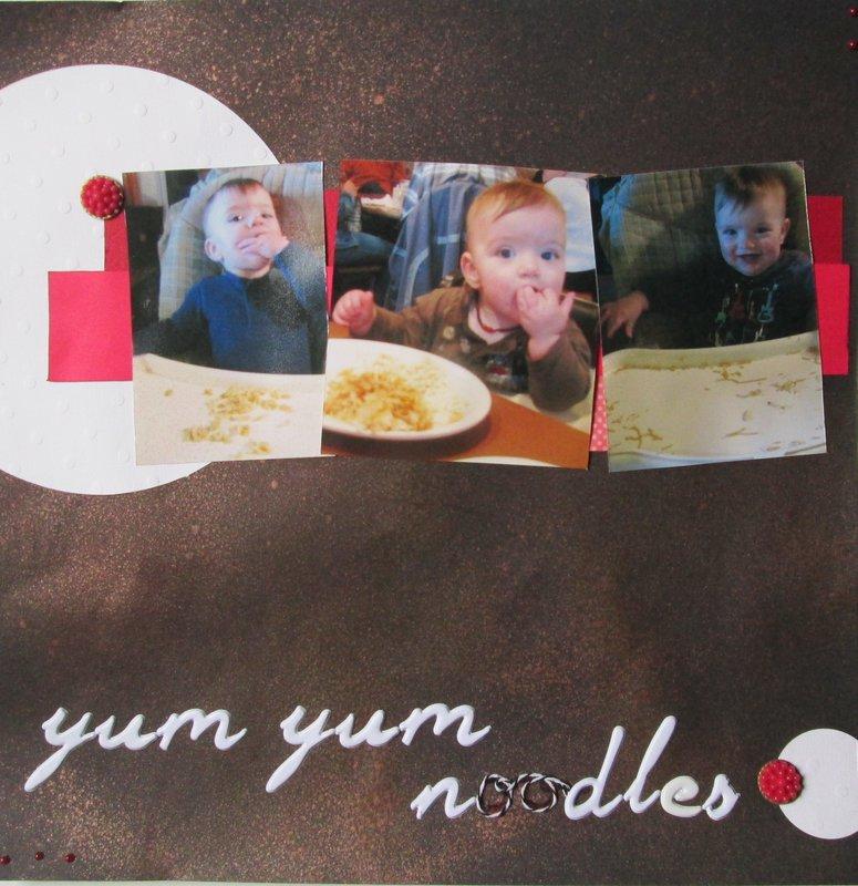 Yum Yum noodles