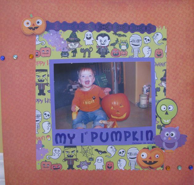 My 1st Pumpkin