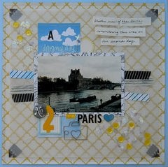 A Dreamy Day in Paris *Sketch-N-Scrap*