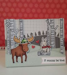 It moose be love!