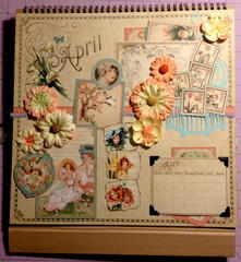 Graphic 45 Place in Time April Page