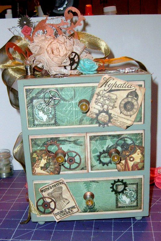 Steampunk chest