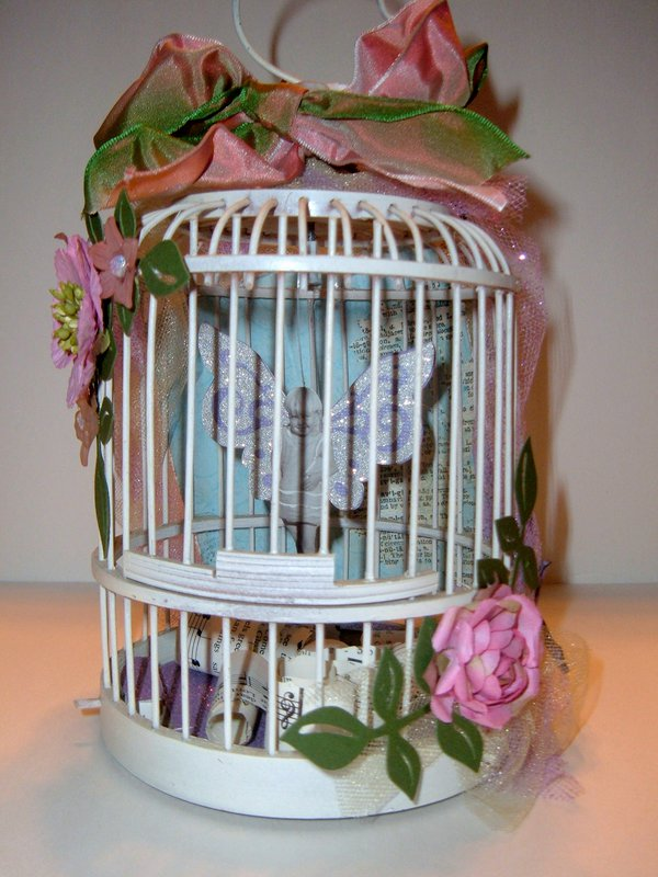 Fairy in a cage