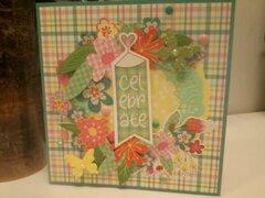 Mad for Plaid birthday card