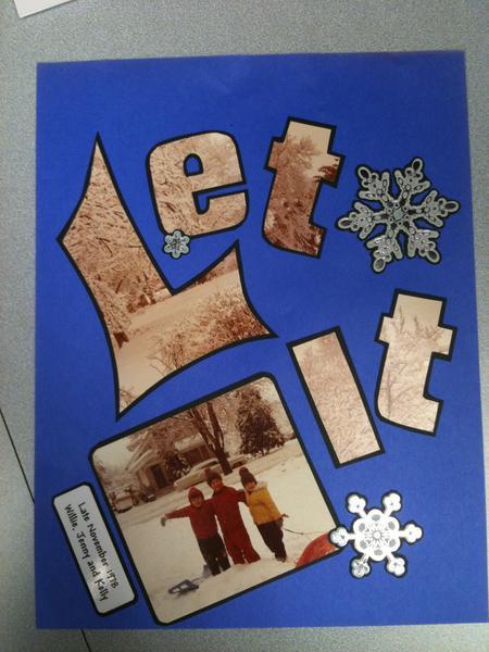 Let It Snow page 1