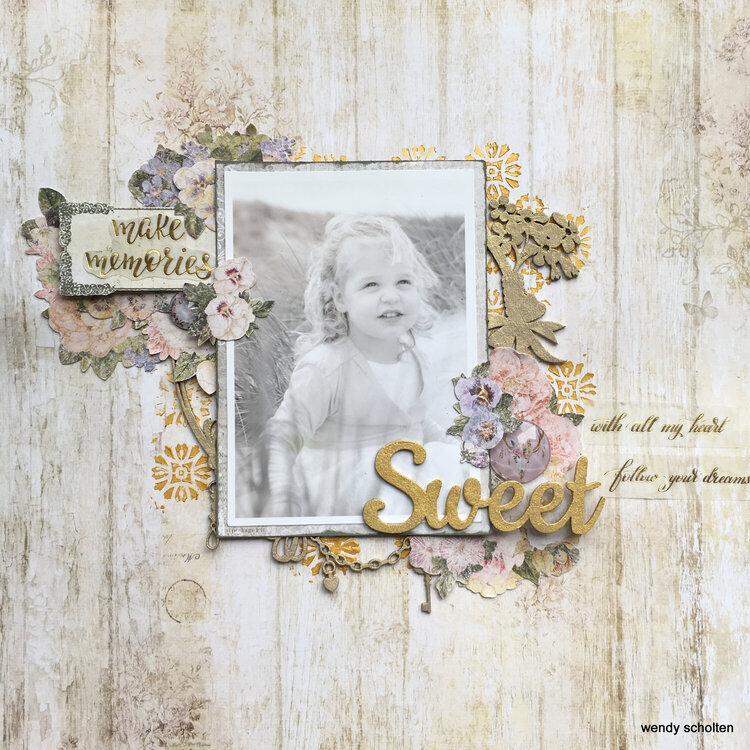'Sweet' Wendy Scholten Blue fern Studios design Team september