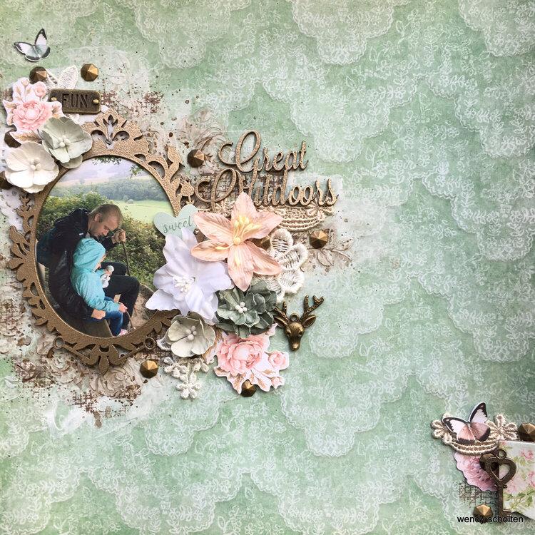'Great Outdoors' Wendy Scholten Blue fern Studios Design Team October