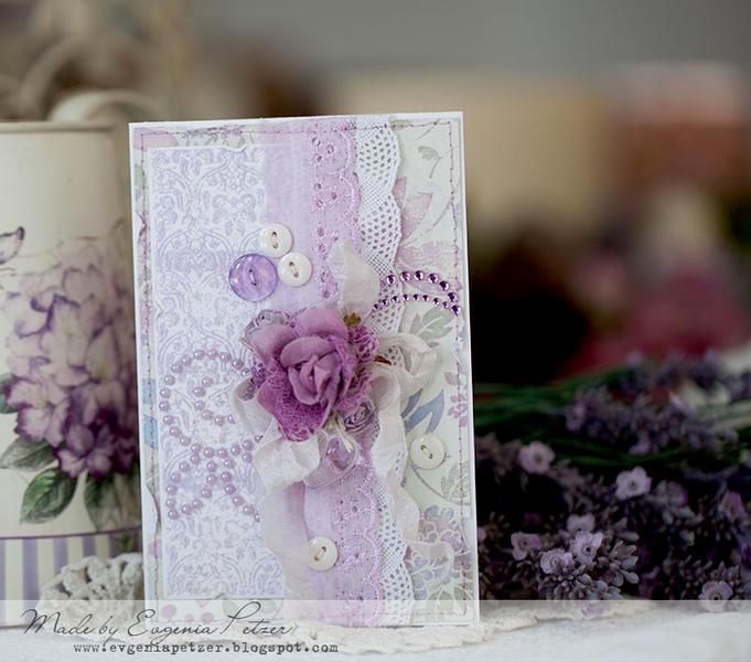 Lavender card *Zva DT, 3rd eye GD*