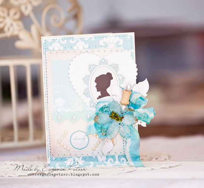 Mpthers day card *Scraps of Elegance* April kit