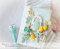 Blue Fern Studios *Fabric notebook)