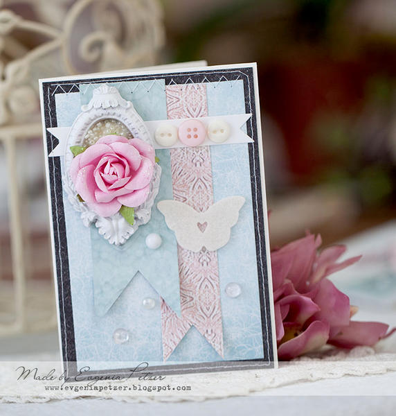 Dreamy card *Scraps of Elegance*