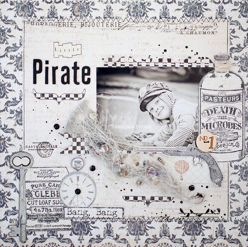 "Little Pirate ""C'est Magnifique July  kit*"