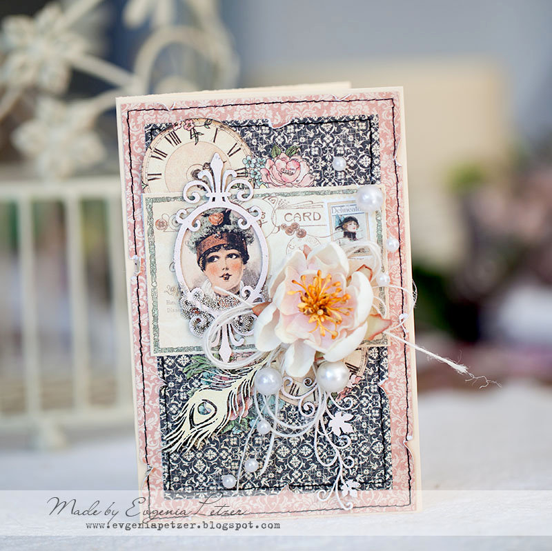 Elegant card *Imaginarium designs* DT