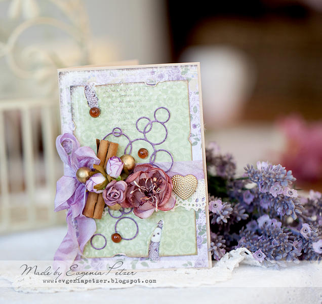 Cinnamon and Lavender *Maja Design*