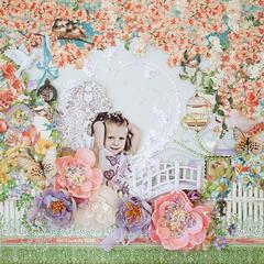 In a garden *Scraps of Elegance* March reveal