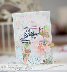 Cup of tea *Scraps of Elegance* March reveal