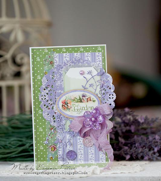 Garden card *Scraps of Elegance* March kit