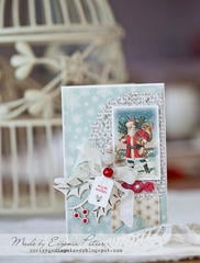 Christmas card, DT Inkido