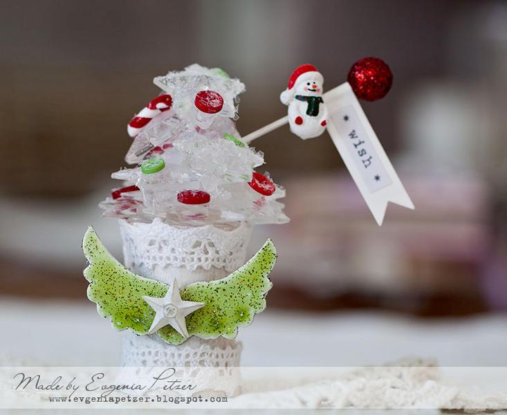 Christmas decor *Tattered Angels*