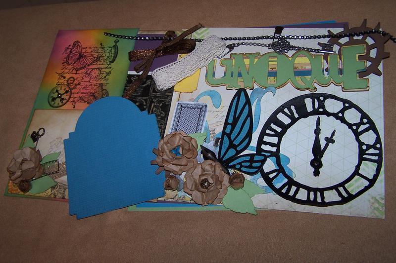 March Kit Swap grunge