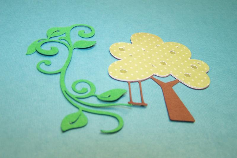 April Die Cut Swap/Trees and Leaves