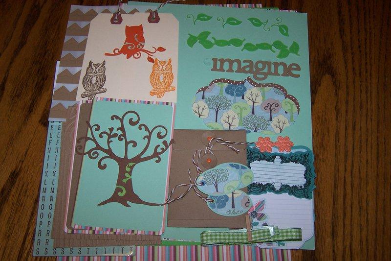 May Kit Swap-Love a Tree Day
