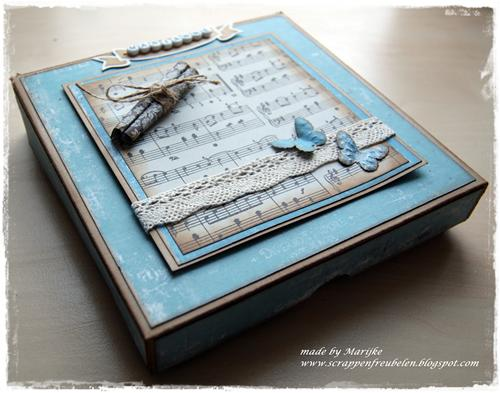 gistbox for easel card