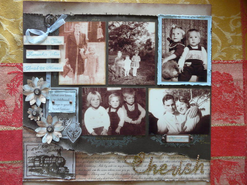 Cherish Family Page 1 of Double Layout