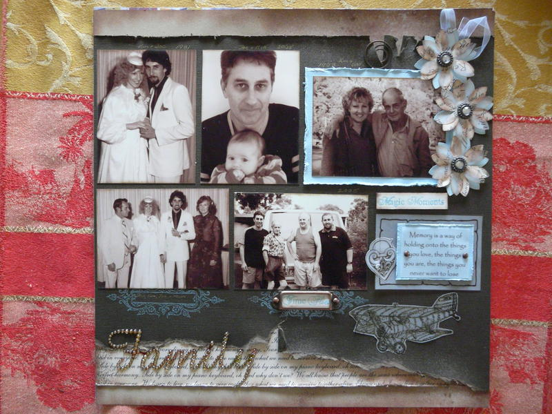 Cherish Family Page 2 of double layout