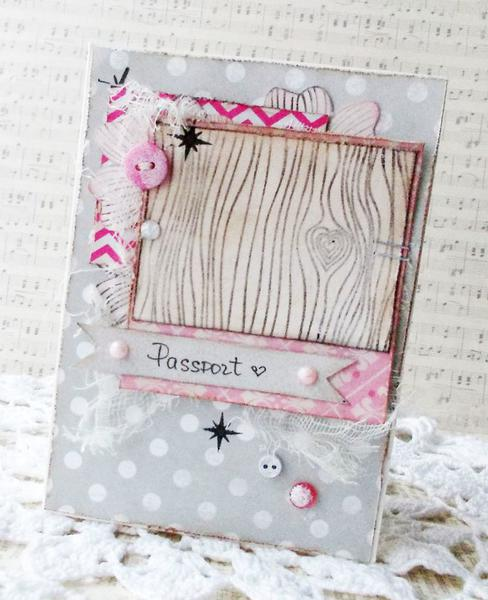 Passport cover for DT gel-a-tins stamps