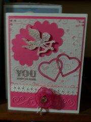 Pink Classic love card