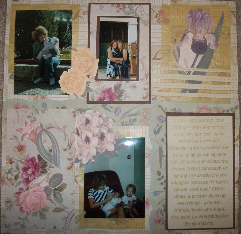 Layout for Mom