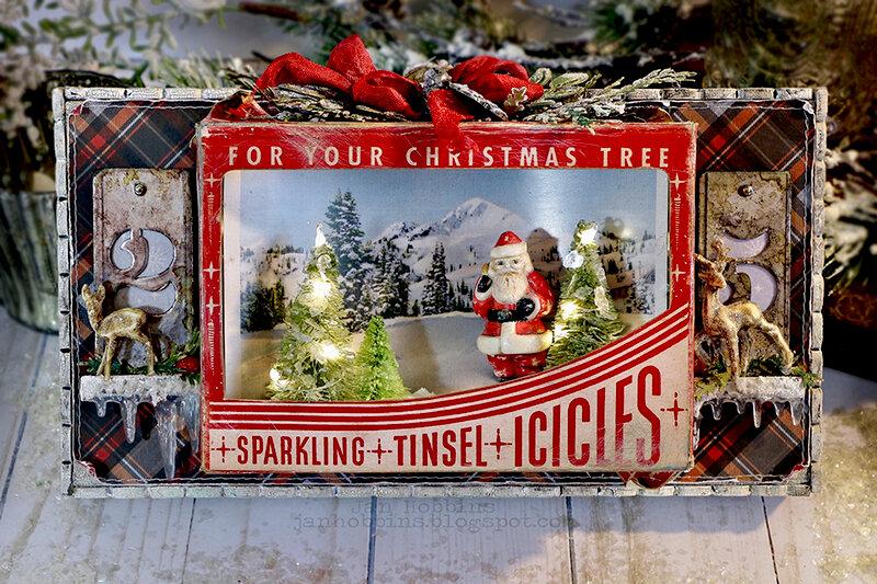 Christmas Vignette Tray